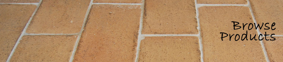 clay pavers tiles