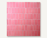 Ceramic Mosaic Paving Pink