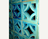 Azul Ceramic Sun Breakers Star -  Egyptian Blue